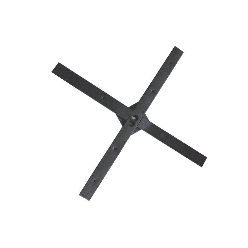 Cross Steel 60x60cm Μεγάλος σταυρός στήριξης