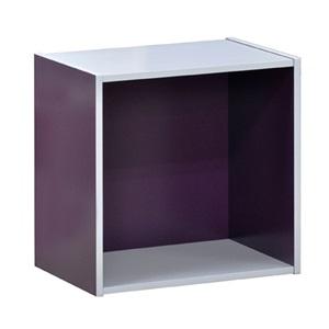 DECON CUBE Κουτί 40x29x40cm Μώβ