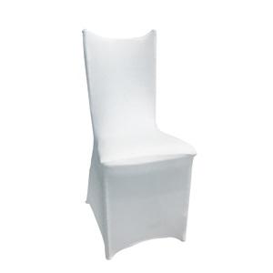 ILONA-HILTON Ελαστικό Υφασμάτινο Κάλυμμα Λευκό