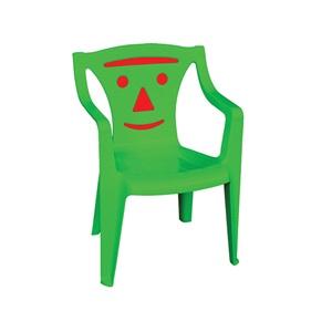 BIMBO Πολυθρονάκι Πλαστικό Πράσινο (Red smile)