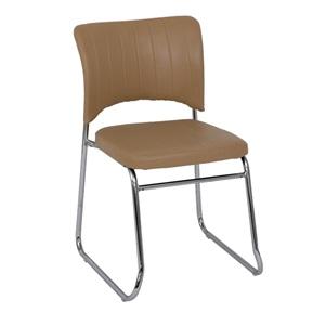 VENUS Καρέκλα Χρώμιο/Pu Cappuccino