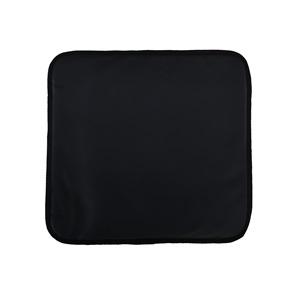 NEXUS Μαξιλάρι Πολυθρόνας, Μαύρο Pu 41x38/1cm
